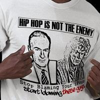 Hip Hop Is Not the Enemy t-shirt